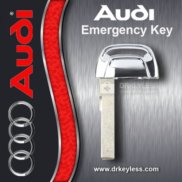 Audi S5 Smart Key Emergency Key