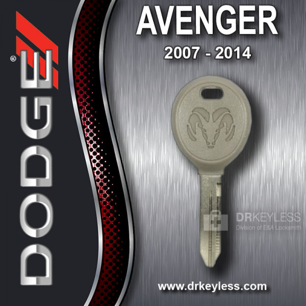 Dodge Avenger Transponder Key with Ram Logo S Stamp / 2007 - 2014