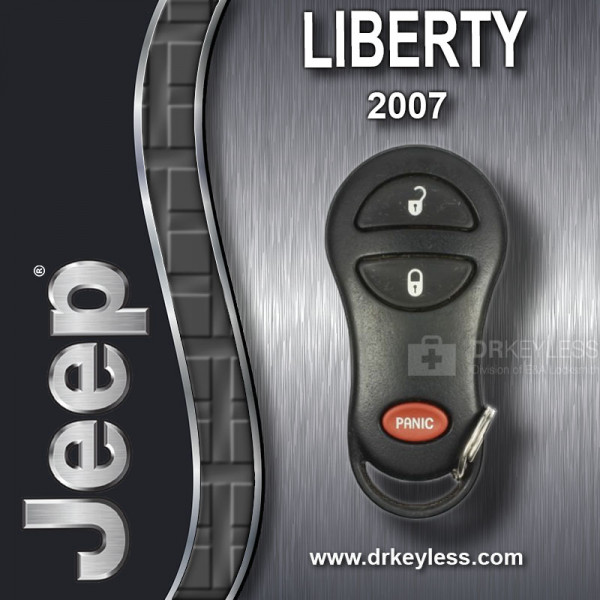 REFURBISHED Jeep Liberty Keyless Entry Remote 3B with Ram Logo GQ43VT9T / 2007