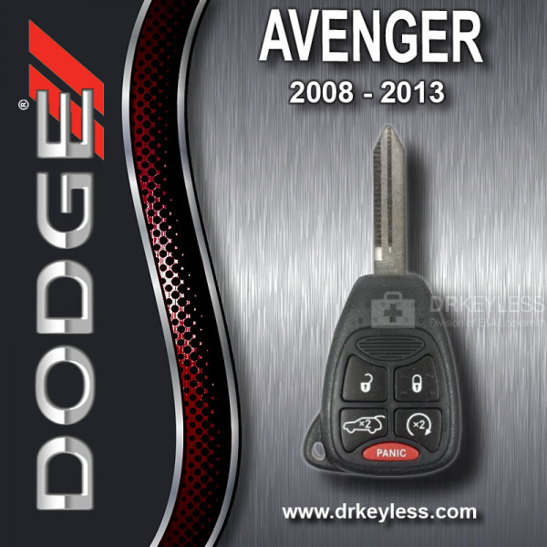 Dodge Avenger Remote Head Key 5B Hatch / Remote Start OHT692427AA / 2008 - 2013