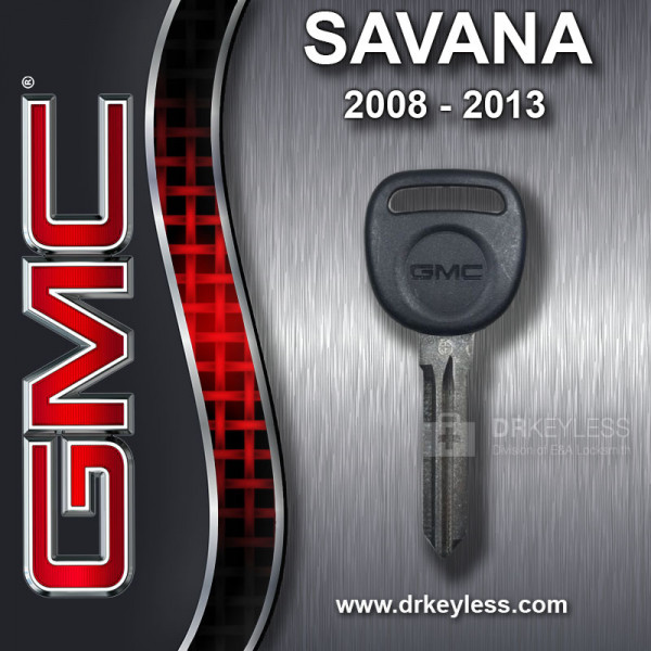 Strattec GMC Savana Logo Circle Plus Transponder Key 692932 / 2008 - 2013