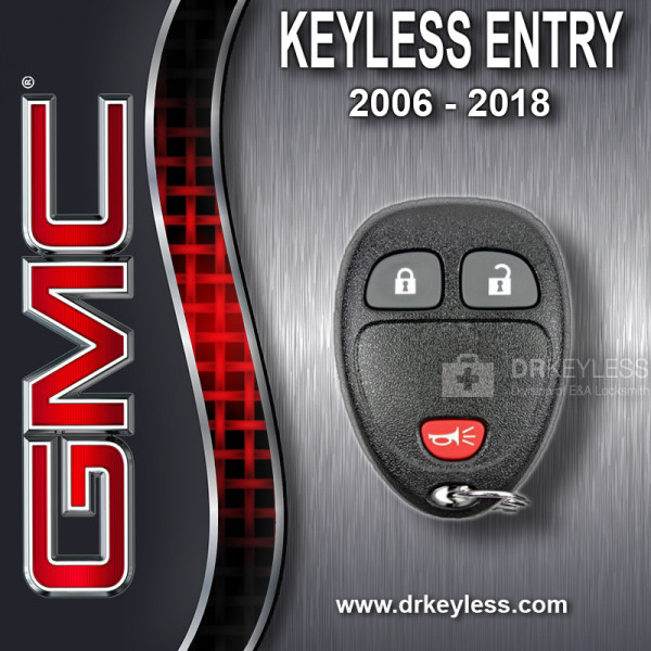 GM Keyless Entry Remote 3B - OUC60270 OUC60221 M3N5WY8109 - 5922034 / 2006 - 2018