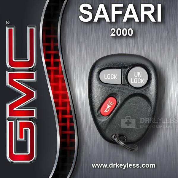 REFURBISHED GMC Safari Keyless Entry Remote 3B - 15732803 - KOBUT1BT / 2000