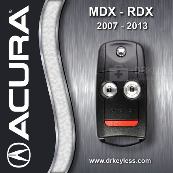 REFURBISHED Acura OEM RDX Remote Fob Key 35111-STX-325 /  N5F0602A1A / 2007 - 2013