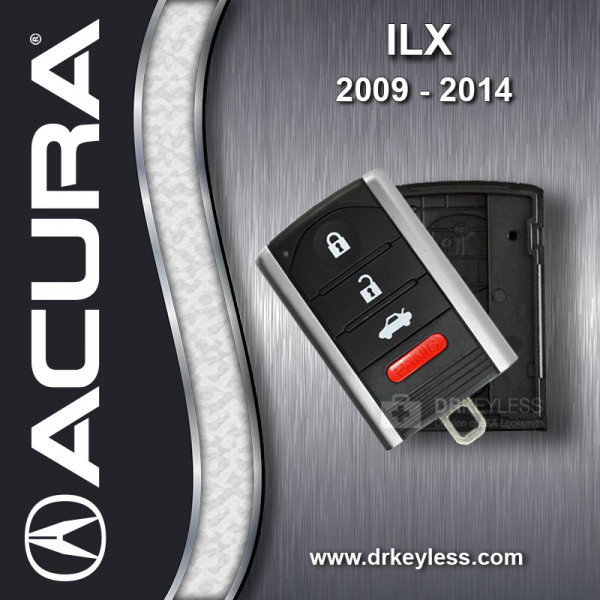 Acura ILX 4B Trunk Smart Key Case 2009 - 2014