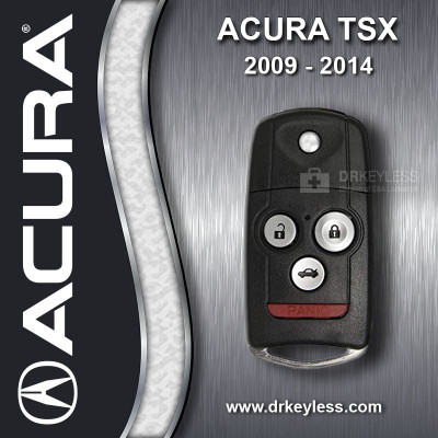 REFURBISHED Acura TSX Sedan Remote Flip Key ID 46