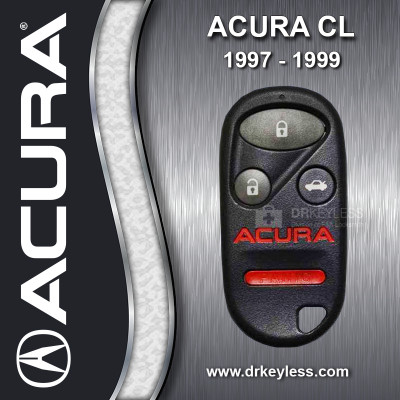 REFURBISHED Acura CL Keyless Entry Remote / 700 101 630 / A269ZUA108 / 1997 - 1999