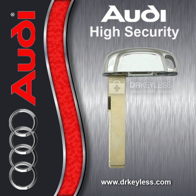 Audi A4 Slot Key Emergency key