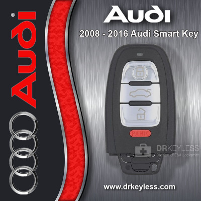 REFURBISHED Audi A4 Avant Remote Key W/O Comfort Access