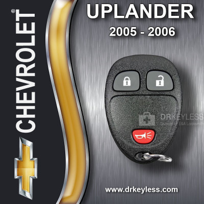 REFURBISHED Chevrolet Uplander Keyless Entry Remote 3B 15100811 KOBGT04A 2005-2006