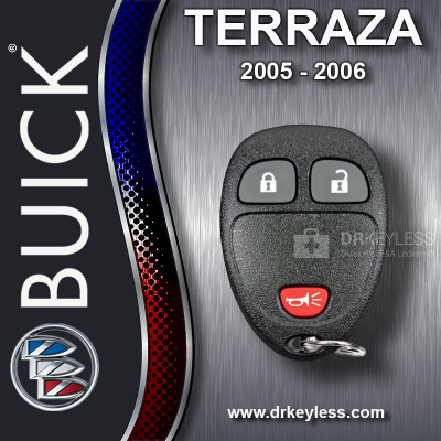 REFURBISHED Buick Terraza Keyless Entry Remote 3B 15100811 KOBGT04A 2005-2006