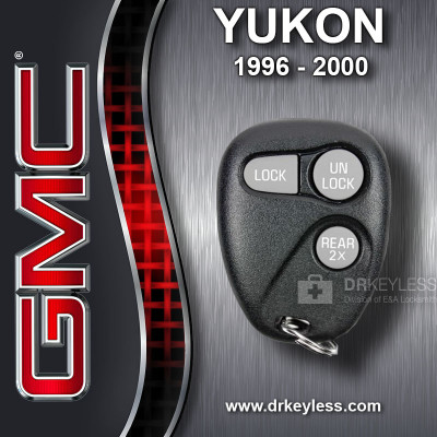 REFURBISHED GMC Yukon Keyless Entry Remote 3B Trunk 2X - 16245105 AB01502T 1996 - 2000