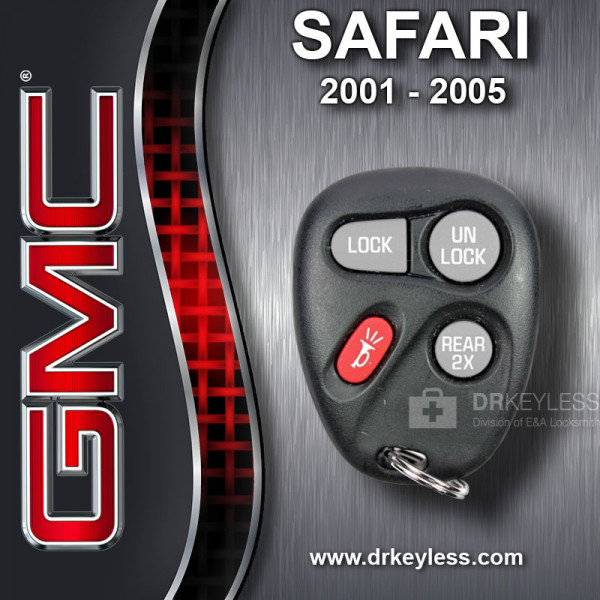 REFURBISHED GMC Safari Keyless Entry Remote 4B 15043458 KOBLEAR1XT 2001 - 2005