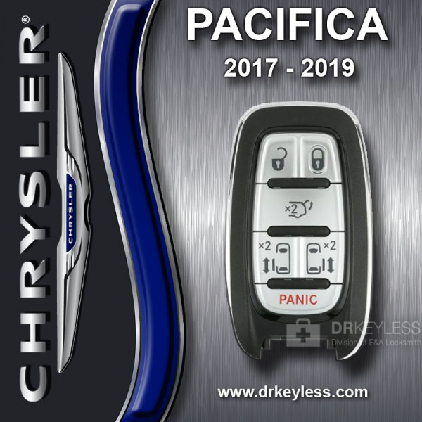 Chrysler Pacifica with Keysense Smart Key - M3N-97395900 / 2017 - 2019