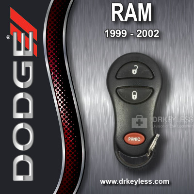 Dodge Ram Keyless Entry Remote 3B GQ43VT9T / 1999 - 2002
